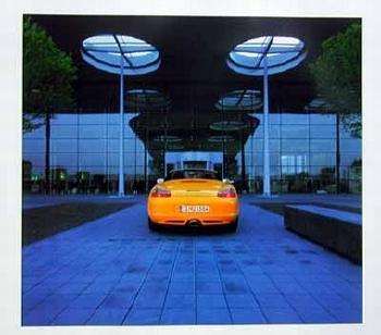 Porsche Boxster, Poster 2002