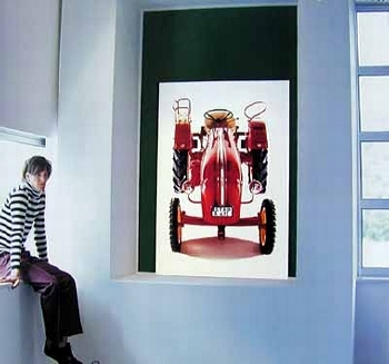 Porsche Schlepper Junior 1964 - Poster In Poster 2002