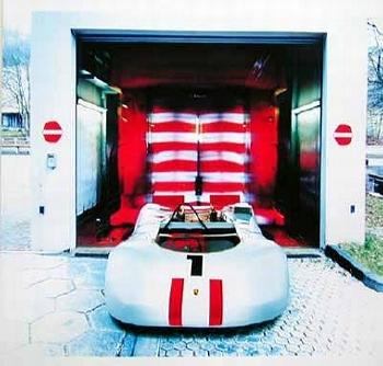 Unforgettable The Bergspyder 909 Porsche Poster, 2003