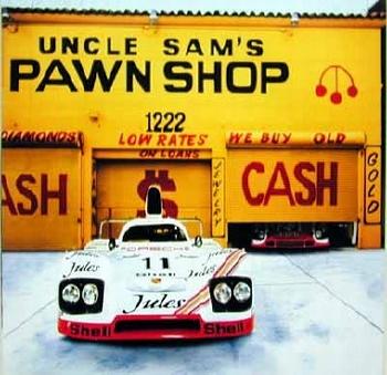 Unforgettable Porsche 936 And Porsche 917, Poster 2003