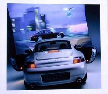 Porsche 911 Carrera 4 Coupé, Poster 1999