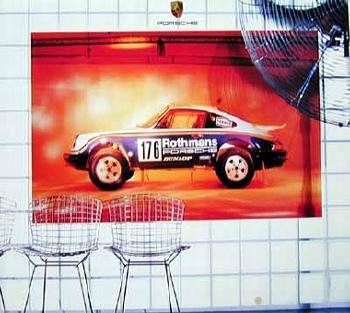 Rothmans Porsche 911 Sc Safari 1984 Poster In Poster, 2002