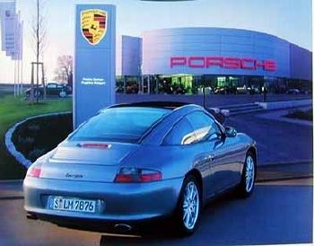 Porsche 911 Targa Poster, 2002