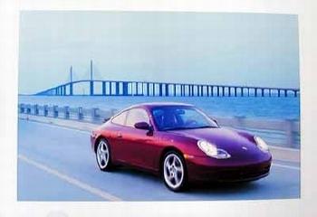 Porsche 911 Carrera Coupé Poster, 2000
