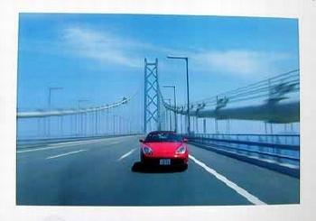 Porsche Boxster In Kobe Japan Poster, 2000