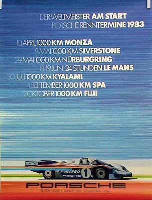 Porsche Original Der Weltmesiter Am