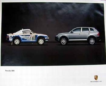 Porsche Original Dna Porsche Cayenne