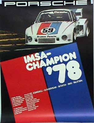 Porsche Original Imsa Championchip 1978