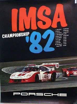 Porsche Original Imsa Championship 1982