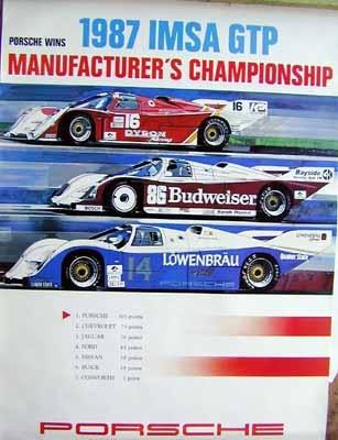 Porsche Original Race 1987 Imsa