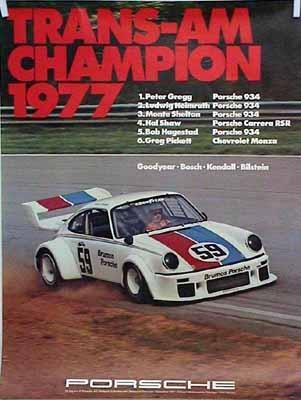 Porsche Original Trans Am Champion