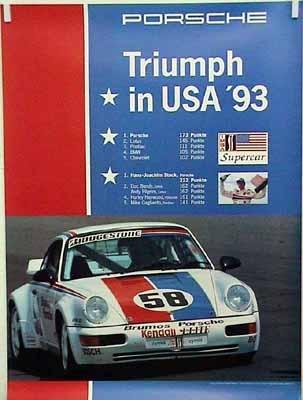 Porsche Original Triumph In Usa