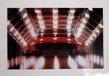 Porsche 911 Poster, 1980