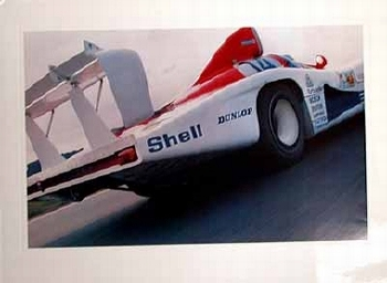 Porsche 936 Poster, 1980