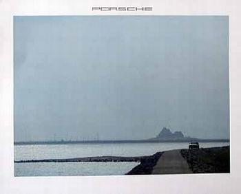 Porsche 924 Poster, 1982