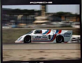 Kremer-porsche 956 Ck 5, Poster 1983