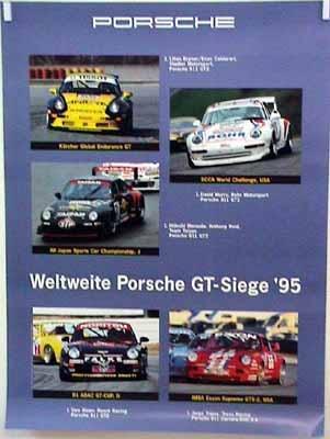 Porsche Original Weltweite Gt-siege 1995