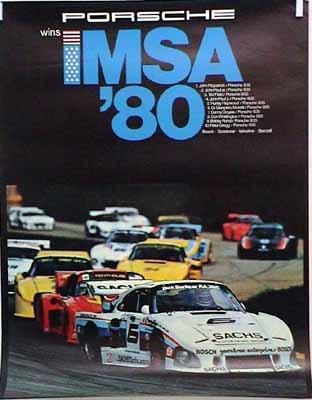 Porsche Original Wins Imsa 1980