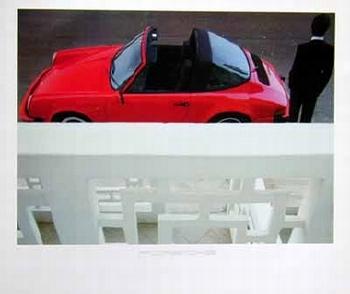 Porsche 911 Targa Poster, 1984