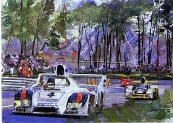 Porsche 936 Spyder, 24 Hours Le Mans 1978 - Poster