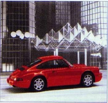 Porsche 911 Carrera 4, Poster 1989