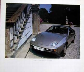 Porsche 928 Poster, 1984