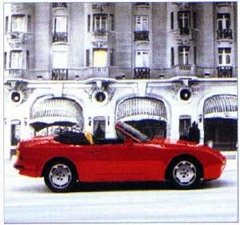Porsche 944 S2 Cabriolet, Poster 1989