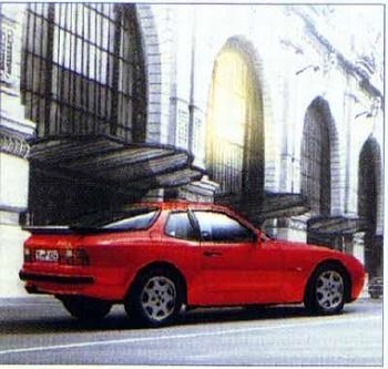 Porsche 944 S2, Poster 1989
