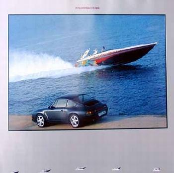 Porsche 911 Carrera Poster, 1994