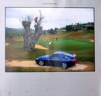 Porsche 928 Gts Poster, 1994