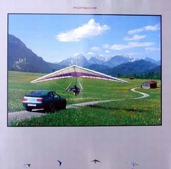 Porsche 968 Coupé Poster, 1994