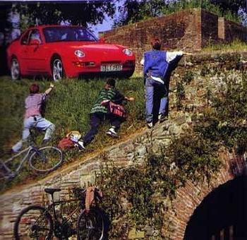 Porsche 968 Coupé Poster, 1995