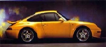 Porsche 911 Carrera Rs Poster, 1996