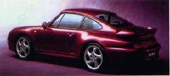 Porsche 911 Turbo, Poster 1996