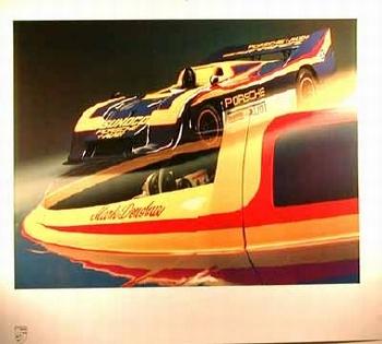 Porsche 917/30 Spyder 1973 Poster, 1985