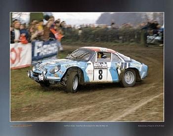 Renault Alpine A100 1800 Jean-pierre