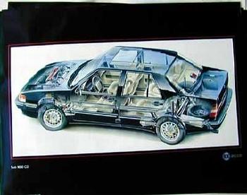 Saab Original 9000 Cd