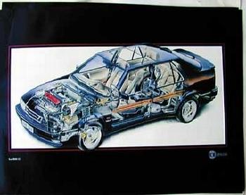 Saab Original 9000 Cs