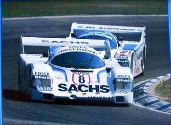 Sachs Original 1988 Joest Porsche