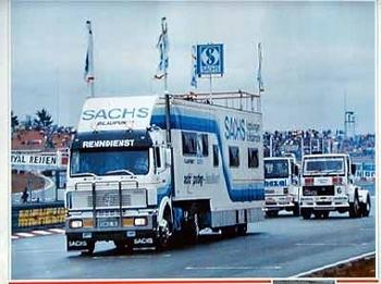 Sachs Original 1989 Renndienst-einsatzfahrzeug Mercedes