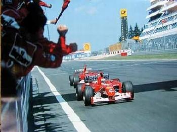 Rubens Barrichello Michael Schumacher Grand