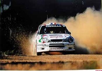 Toyota Team Europe 1998 Corolla