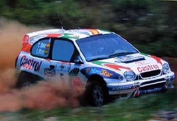 Toyota Original 1999 Motorsport Corolla