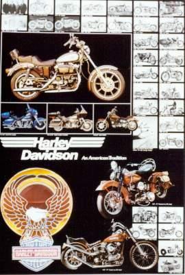 Us-import Harley Davidson Motorcycles Motorcycle