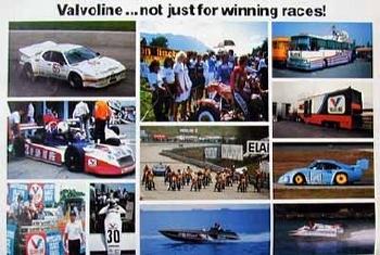 Valvoline Original 1984 Race Impressions