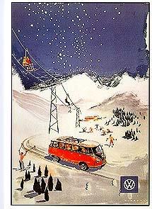 Vw Volkswagen Bulli Werbung