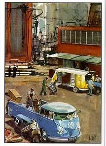 Vw Volkswagen Bulli Advertisement
