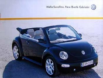 Vw Original New Beetle Cabriolet