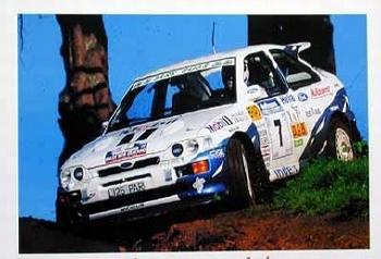 Rally 1995 Ari Vatanen Fabrizia