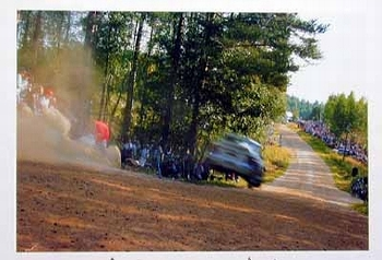 Rally 1995 Tommy Mäkinen Seppo